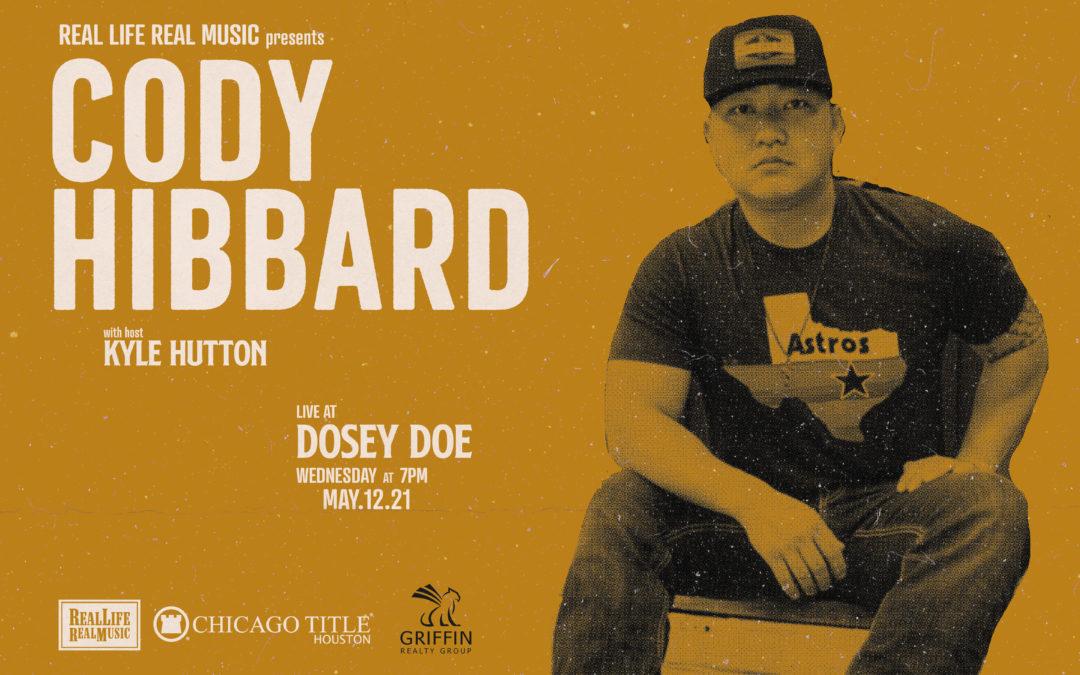 Don't Miss Cody Hibbard on #RLRM!