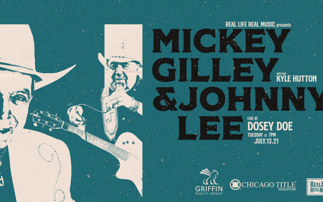 Don't Miss Mickey Gilley & Johnny Lee on #RLRMLive
